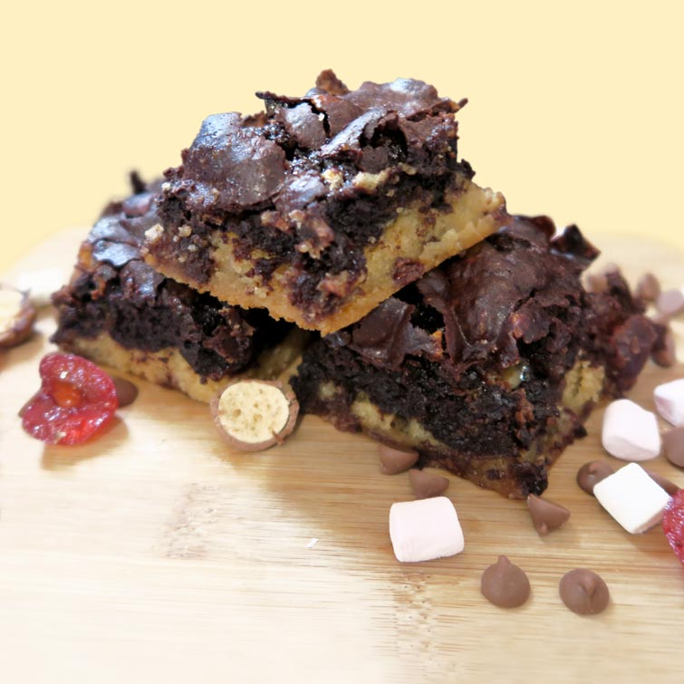 Brownies and treats, handmade by Avenue Bakes of Shropshire